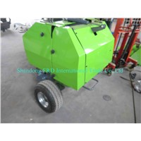 2015 direct factory cheap mini-round baler/hay baler