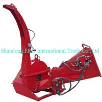 CE approved wood waster shredder, hydraulic wood chipper for sale