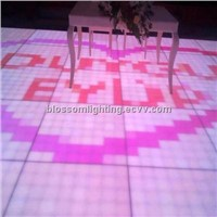 2048pieces LED Acrylic Digital Dance Floor (BS-2607)