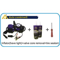 tire sealer tyre inflator tire sealant emergency tools