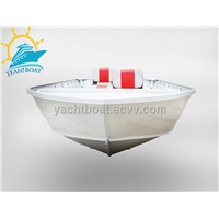CE certificate bass aluminum boat hull for sale