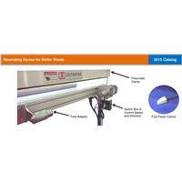 Rolling and Winding System for Roller Shades - UltraTab