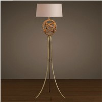 European style art special design home vintage floor lamp