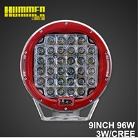 Off road Round led work light, 9inch 96W led work light for 4X4, SUV, ATV