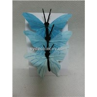 butterfly, feather butterfly, artificia butterfly (15SK942)