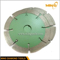 Diamond cutting blade for stone
