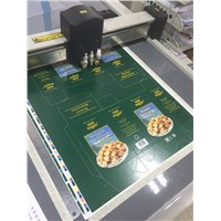 Flatbed inkjet digital printing finishing prototype cutting sample maker cutter plotter