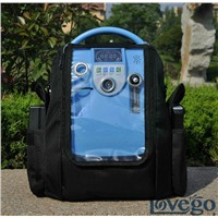 Lovego 5LPM portable oxygen concentrator with battery