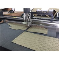 PVC coil TPE XPE leather car mat floor blanket cushion pad cnc knife cutting table