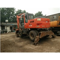 Used Wheel Excavator Hitachi EX160WD