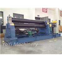 W11-20mm 2500mm  3 roll plate bending machine