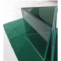 6mm Smoked Milky Tempered Laminated Glass for Interior Doors (China Glass Factory)