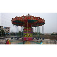 wave swinger flying chair amusement park rides for theme park
