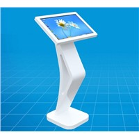 21.5inch Floor standing interactive information with touch screen display