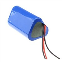 3S1P 11.1v 2600mah rechargeable 18650 battery pack