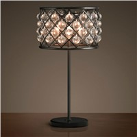 Indoor decoration modern and elegance crystal table lamp design