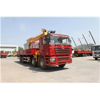 SHACMAN truck mounted crane 16Tons for sale