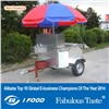 HD-21 best quality street food vending cart for hot dog