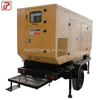 mobile diesel generating set with trailer for sale
