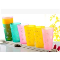 Plastic drinking cup for children