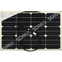 Hot sell 30w flex solar panels for RV / boats/ marine from factory directly