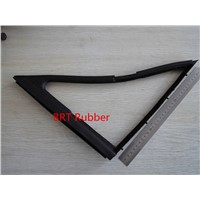 Rubber sealing strip for windows