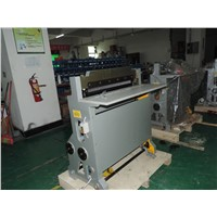 Book paper semi-auto punching machine