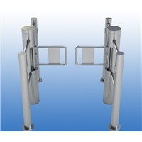 Automatic Pedestrian Control Vertical Swing Barrier Gate with Handrail