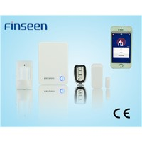Home burglar alarm security system/IP based home security alarm system