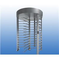 Hand-Push Stainless Steel 120degree Rotation Security Full Height Turnstile