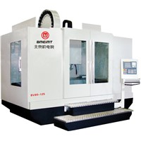 heavy-cutting type vertical machining center