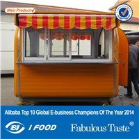 Best quality catering trailer fast food trailer