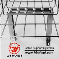 Roof Mounting Zinc Plated Wire Mesh Cable Trays