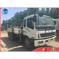 USED Isuzu High-alititude Operation Truck for Heavy Construction
