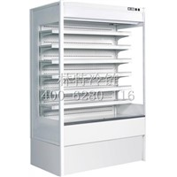 high quality air curtain  dairy products beverage convenience store display refrigerator/freezer
