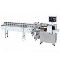 pillow type PLC control low energy carton box sealing machine with CE