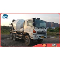 9CBM, 350HP Japan-made Hino USED Mixer Truck