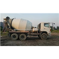 Hino used cement mixer truck with 10 cbm