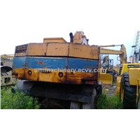 Use kobelco sk120 wheel excavator second hand kobelco sk120 2t wheel excavator used wheel excavator