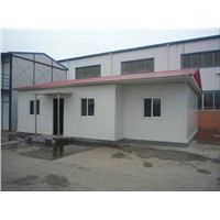 Temporary Prefabricated Emplacement House for Angola