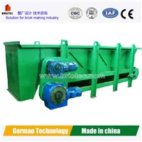 brick feeding machine for hollow brick making process