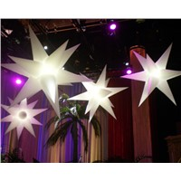 decorative inflatable lighting stars for events/party/club