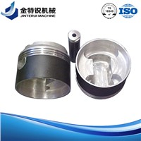 piston Aluminum cast part with high quality