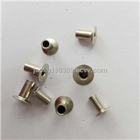 Fully hollow tubular type nikle plated clutch facing rivets G5