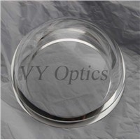 BK7 glass UV Fused Silica dome lens/ hemisphere Dome
