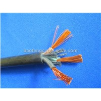 rubber insulation and sheathed mining usage fleixble rubber cable
