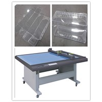 Garment graphics sample maker cutting machine