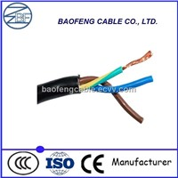 PVC Insulated PVC Sheathed 3 core 2.5mm Flexible Wire
