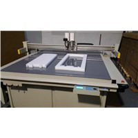 Paper board digital flatbed sample maker cutting machine