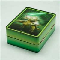 Rectangular Tin Box with lock